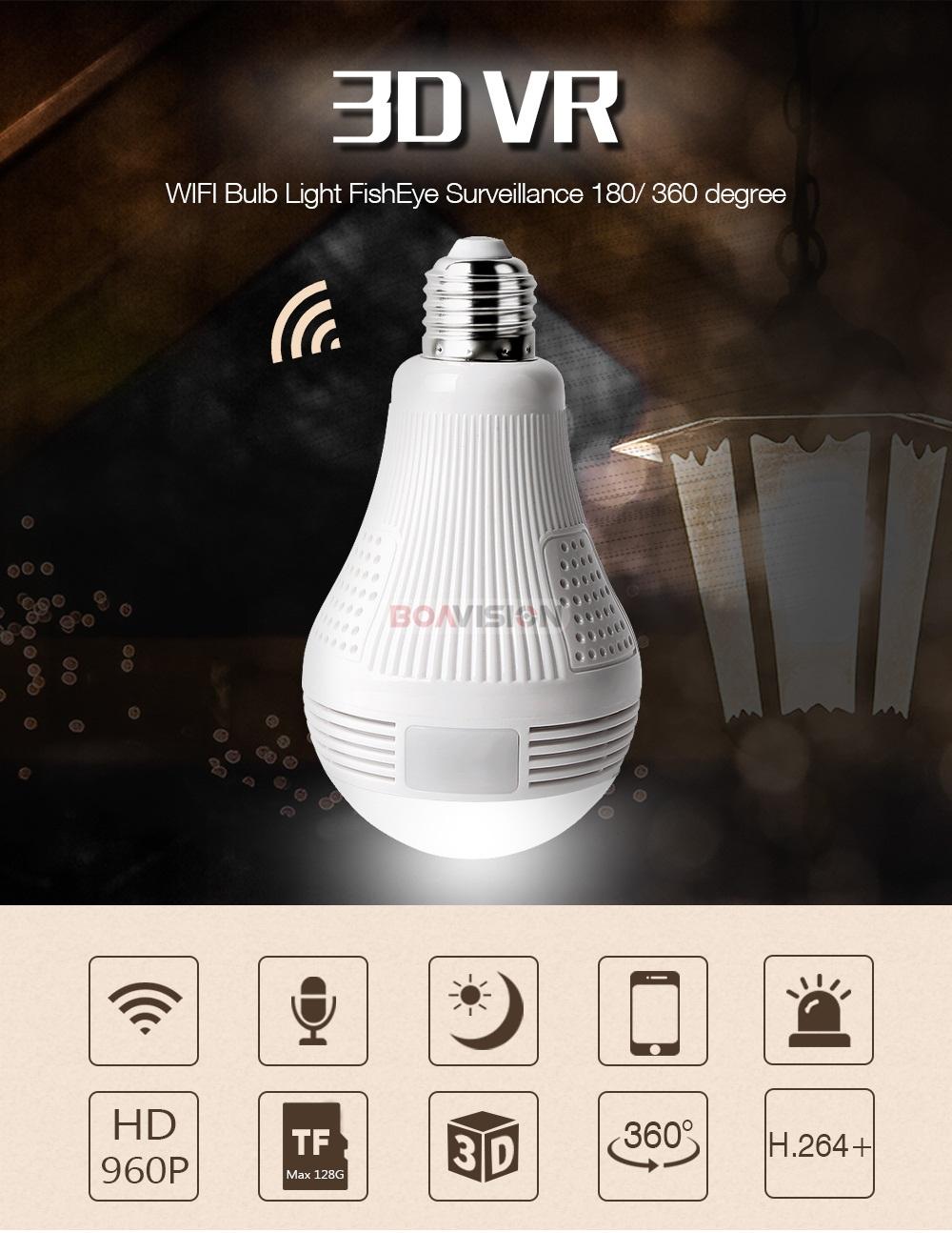 01 Bulb Light IP Camera