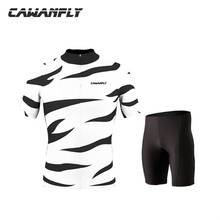 2018 Cawanfly Cycling Jersey Summer Team Short Sleeves Set Bike Ropa Ciclismo Outdoor&sports(China)