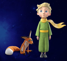 Educational Little Prince Little Girl Pilot Fox Anime Handmade Creative Action Figure Birthday Kids Adult Hot Sale Gift Toys(China)