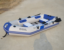 New arrivals high quality 3 persons inflatable boat 0.70MM PVC Thick drift boat Kayak canoeing Fishing boat 230 * 120 * 31cm