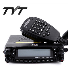 Newest Version TYT TH-9800 Plus 50W Quad Band Mobile Car Radio AM Air-band Reception with Programming Cable Software