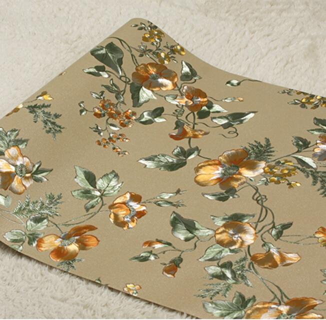 Delight Gold Foil Classic Living Room Wallpaper Wholesale Cheap High Quality Wallpaper Papel De Parede Infantil Menina Wallpaper<br>