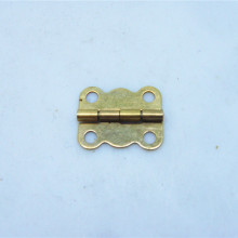 50pcs 16 * 13MM small wooden box hinge 4 division lace Yellow Pages iron Hinge herrajes muebles