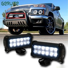 "DE STOCK! 2pcs 7"" inch 36W LED Work Light day Lamp for Motorcycle Tractor Boat Off Road 4WD 4x4 Truck SUV ATV Wholesal Fog Light(China)"
