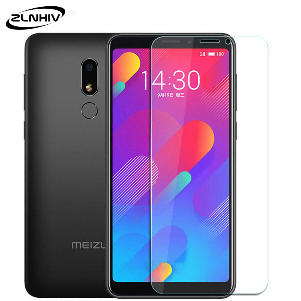ZLNHIV for meizu m8 phone screen protector tempered for meizu m5c m5s m5 note m6s m6t m6 note m8c glass protective smartphone title=