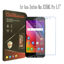 Original For Asus Max ZC550KL Front Tempered Glass Screen Protector Protective Steel Film for Asus Zenfone Max ZC550KL Wholesale(China)