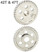 06033 06232 HSP Metal Spur Gear (42T) & (47T) For RC 1/10 Off-Road Buggy Nitro Car Backwash Warhead 94166 94106 Upgrade Parts