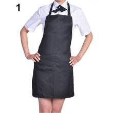 2015 Hot Sale Women's Fashion Easy to Clean Apron with Front Pocket for Chefs Butchers Retail/Wholesale