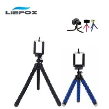 Phone Holder Mount Stand Tripod Bracket Stand Monopod OCTOPUS Flexible TRIPOD GRIP Handle FOR SMARTPHONE IPHONE SLR DSLR Cameras(China)