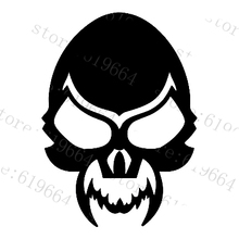 car styling Car decals devil evil skull car motorcycle electric bicycle car  waterproof stickers case for kia ford Chevrolet