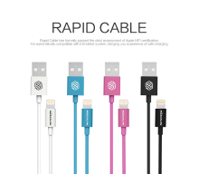 NILLKIN Rapid MFI certification Cable For Apple For Lightning Port Devices For Apple iPhone ios 8/iPad/iPod/SE/iPhone 6/6s Plus