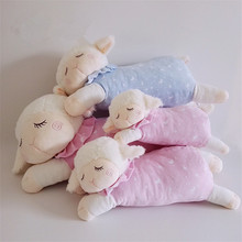 Super Soft Sweet Sheep Plush Toys Baby Kids Sleeping Comfort Stuffed Dolls Children Friends Lovers Gift 36/46/56cm
