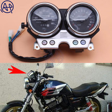 For honda CB400 1992 1993 1994 CB 400 Motorcycle Gauges Speedometer Tachometer Odometer Cluster KM/H RPM Instrument Assembly 1pc(China)