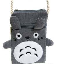 MY Neighbor TOTORO Kawaii SIZE 19*13CM Gift Satchel BAG Kid's Neck Backpack ; Neck Shoulder BAG Pouch(China)
