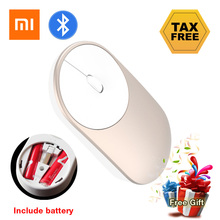 Xiaomi Bluetooth Mouse Optical Bluetooth 4.0 Rf 2.4ghz Dual Mode Connect For Video Game Office Laptop Desktop With Battery