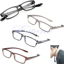 E74 Free Shipping Hot Light Comfy Stretch Reading Presbyopia Glasses 1.0 1.5 2.0 2.5 3.0 Diopter