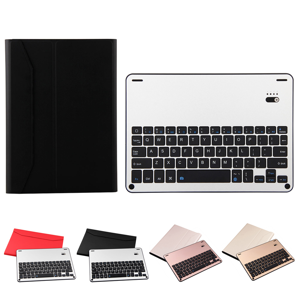 Newest Dustproof  Bluetooth 3.0 Wireless Keyboard Foldable Case Stand Cover Holder  for iPad air2  iPad pro 9.7<br>