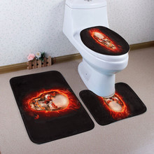 bathroom toilet mat memory foam toilet mats anti-slip bathroom carpet toilet rug non slip bath mat(China)