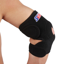 Neoprene Elbow Support Guard Breathable Elastic Brace Sports Safety Volleyball Tennis Motocross Elbow Pads Protector Black