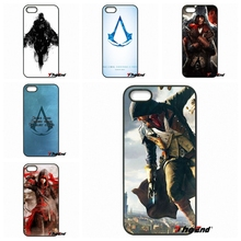 Phone Case Accessories Top games Assassins Creed For Xiaomi Redmi Note 2 3 3S 4 Pro Mi3 Mi4i Mi4C Mi5S MAX iPod Touch 4 5 6(China)