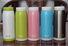 True ONEDAY brand's colored stainless steel vacuum bottle OD-B13 450 ml