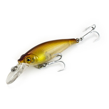1pc, Minnow Plastic Hardbaits 50mm, Fishing Lures, Wobblers, Freshwater Fish Lure, Free shipping