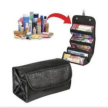 NEW Arrival Make Up Cosmetic Bag Case Women Makeup Bag Hanging Toiletries Travel Kit Jewelry Organizer Cosmetic Case
