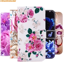 For Samsung Galaxy A3 A5 A7 J1 J3 J5 J7 2016 2015 S3 S4 S5 S6 Galaxy Core Prime G530 G360 G355 pu leather phone case flip