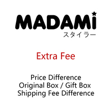 Extra Fee(Original Box/Gift Box/Shipping Fee Difference)