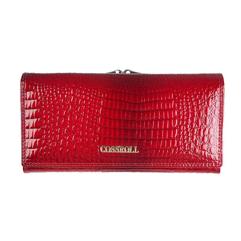 Genuine Leather Alligator Pattern Women Wallet Luxury Brand Purse Women Fashion Leather Wallet With Card Holder<br><br>Aliexpress