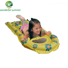 45*70cm 4 Style Cartoon Children Inflatable Water Toys Ski Surfboard Kickboard Lounge Bed Swim Ring Pool Floating Row/Raft PVC