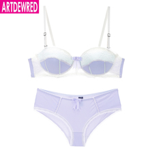 Buy Luxurious Sexy Large Size Lace Push Bra Set B C D Cups Brassiere Women's Underwear Lingerie Panties Bra Sets Intimates