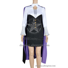 RWBY Cosplay Glynda Goodwitch Beacon Academy Staff Costume Full Set Uniform Outfits Suit Halloween Party Fast Shipping