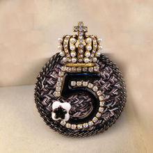 new arrival women brooch pins/cheap korean handmade cz camellia crown wedding suit accessorie/broschen/broszka(China)