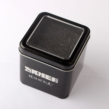Top Brand SKMEI Sports LED Watch Original gift box Metal Boxes&Packaging Windowed Relogio cajas para