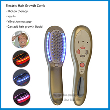 3 in 1 LED Microcurrent Hair Grow Laser Comb Power Growth Electric Scalp Stimulator Massage Anti Hair Loss Therapy Health Care(China)