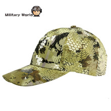 Outdoor Hunting Fishing Baseball Cap Men's Summer Army Military Camouflage Sun Hats For Airsoft Women Mountian Camping Hat