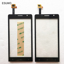 ESUWO New Touch Screen For Ark Benefit M3S Capacitive Touch Screen Sensor Front Glass Touch Panel Black Color(China)