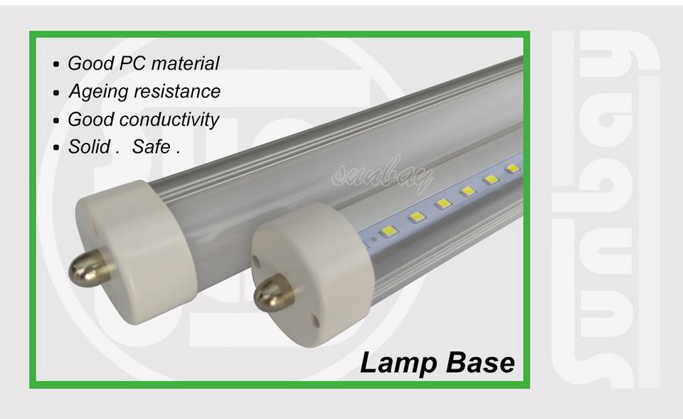 8S-T8-FA8-Lamp base