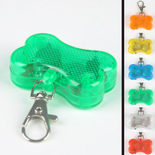 Dog Bone Collars Products LED Light Hooked On Dog Collar Pet Dog Cats Identity Pet Accessories