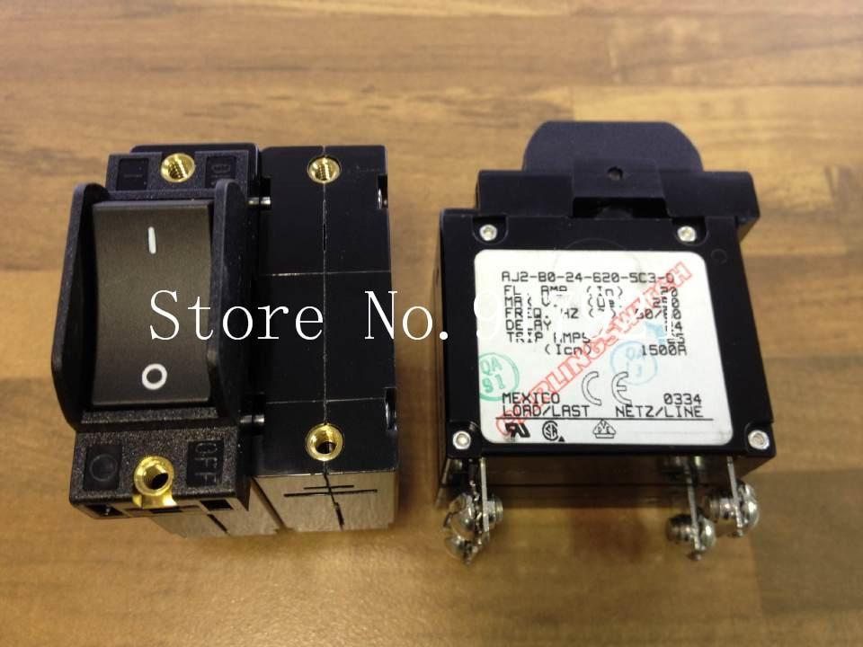 [ZOB] The United States Carling Jia Ling AJ2-BO-24-620-5C3-0 breaker 2P20A 250V  --5pcs/lot<br>