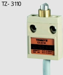 3Meter Momentary IP67 4Wire Sealed Plunger Limit Switch travel switch TZ-3110 free shipping<br>