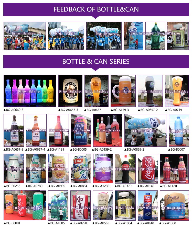 Inflatable Bottle & Can Series-Bingo Inflatables