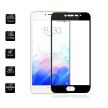 0.26mm Full Screen Tempered Glass Film For Meizu M3s M3 mini Screen Protector 9H Gorilla Glass protective Glass On Meizu M3 Note