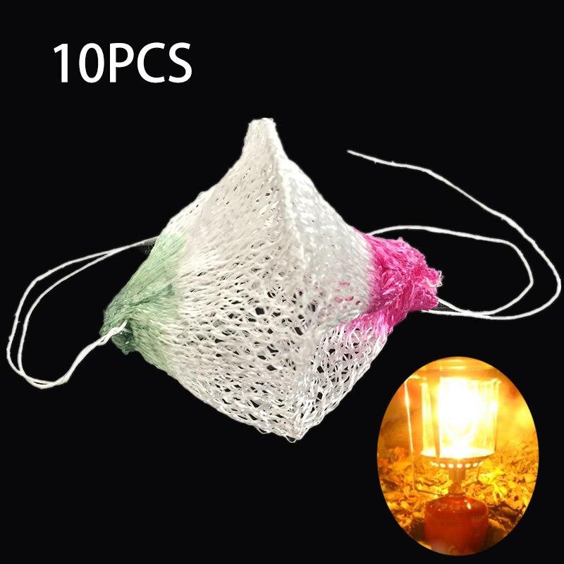 100 Universal Gas Lantern Mantles Camping Hiking Lamp Mantle Paraffin Gas Light