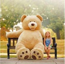 260cm CUTE GIANT TEDDY BEAR HIGH QUALITY COTTON PLUSH LARGE SIZE STUFFED ANIMAL gift