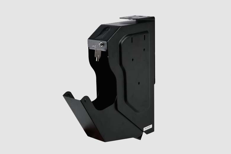 Gun Safes Fingerprint and Spare Key Lock Pistol Safe Box High Quality Steel Security Guns Fingerprint Strongbox (10)