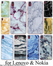 Newest Fashion  Marble Hard Case for Nokia Lumia 640 535 730 630 640XL XL Lenovo S850 S90 S60 A536 A328 Sony Z2 Z3 Z4 cover