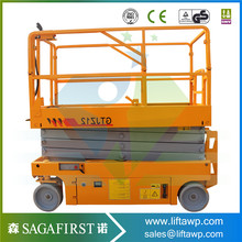 Lifting equipment hydraulic mechanism self propelled scissor lifter(China)