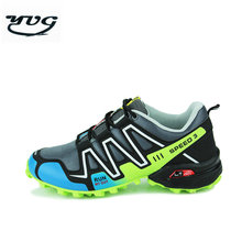YUG 2017 New Men Running Shoes For Women Waterproof Leather Run Trainers Sports Shoes Men super sol zapatillas hombre deportiva